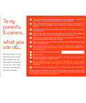 Set of 100 I Can…You Can Postcards (4 designs – Myself, Teachers, Parent/Carers & Friend)